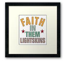 *Broken Taillight* Hot Lines Collection #LightLivesMatter Framed Print