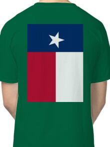 TEXAS, Lone Star, Texas Flag, FULL COVER, Flag of the State of Texas, USA, America, American Classic T-Shirt