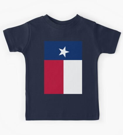 TEXAS, Lone Star, Texas Flag, FULL COVER, Flag of the State of Texas, USA, America, American Kids Tee