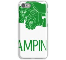 A Bad Day Camping Is Better Than Good Day At Work iPhone Case/Skin