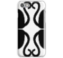 11. Simmetrical Pixel Cats iPhone Case/Skin