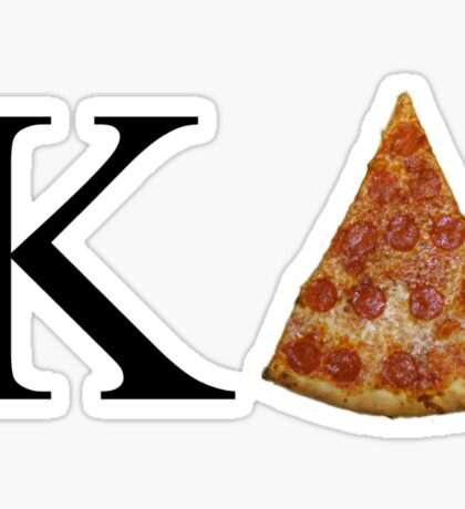 KD Pizza Sticker