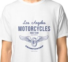 Vintage Wheel with Wings Illustration for T-shirts prints Classic T-Shirt