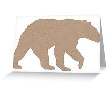 Bear Necessities Greeting Card