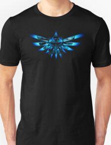 Blue Triforce The legend of zelda T-Shirt