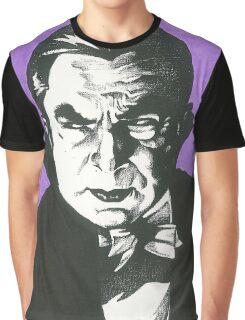 Dracula Classic Gothic Horror Graphic T-Shirt