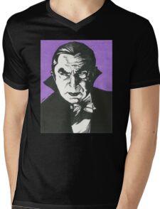Dracula Classic Gothic Horror Mens V-Neck T-Shirt