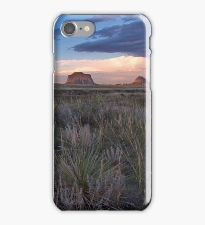 Buttes Sunset #4 iPhone Case/Skin