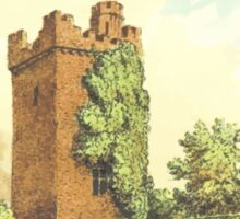 Rochford Tower (Homes of our Forefathers in Boston, Old England, and Boston, New England', Edwin Whitefield, 1889.) Sticker
