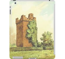 Rochford Tower (Homes of our Forefathers in Boston, Old England, and Boston, New England', Edwin Whitefield, 1889.) iPad Case/Skin