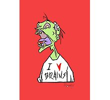 Brains! Photographic Print