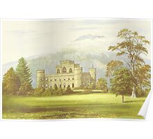 The Inveraray Castle, Argyll, Scotland (Artwork) Poster