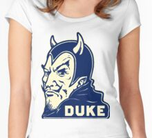 Duke Blue Devils Women's Fitted Scoop T-Shirt