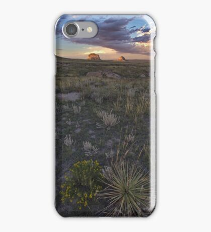 Buttes Sunset #6 iPhone Case/Skin