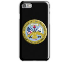 American Army, ARMY, ARMIES, USA, United States Army, Emblem of the United States, Department of the Army iPhone Case/Skin