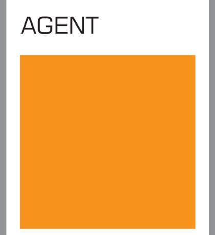 Agent Orange Sticker