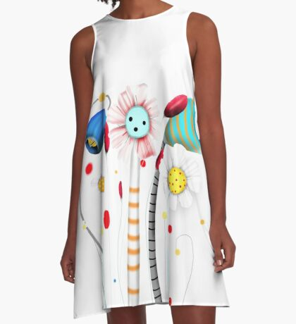 Fly me to the moon A-Line Dress