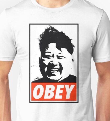 Kim Jong Un OBEY Unisex T-Shirt