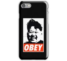 Kim Jong Un OBEY iPhone Case/Skin