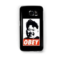 Kim Jong Un OBEY Samsung Galaxy Case/Skin