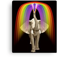 Blow Me A Rainbow Canvas Print