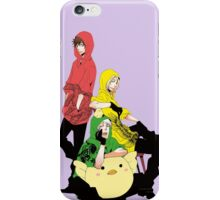 bad touch trio iPhone Case/Skin