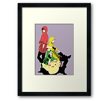 bad touch trio Framed Print