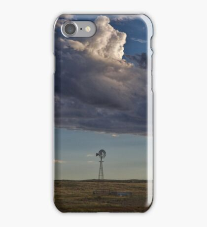 Windmill Eastern Colorado #1 iPhone Case/Skin