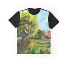 Little House on hill  Graphic T-Shirt