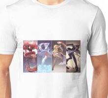 Team RWBY - In Action ! Unisex T-Shirt