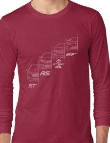 Ford Performance (White) Long Sleeve T-Shirt