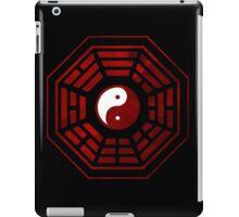 Yin Yang Red Pangua iPad Case/Skin