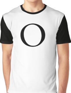 O, Alphabet Letter, Oscar, Ocean, A to Z, 15th Letter of Alphabet, Initial, Name, Letters, Tag, Nick Name Graphic T-Shirt