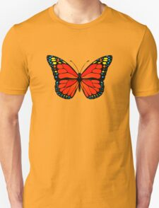 Red butterfly Unisex T-Shirt