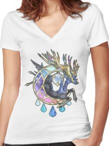 Xerneas - Pokémon X  Women's Fitted V-Neck T-Shirt
