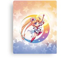 Chibi Super Sailor Moon Canvas Print