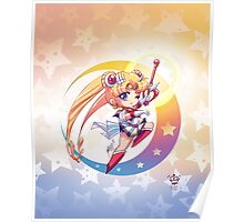Chibi Super Sailor Moon Poster