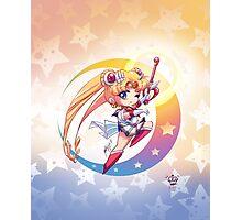 Chibi Super Sailor Moon Photographic Print