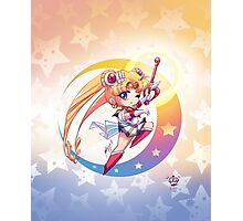 Chibi Super Sailor Moon Photographic Print
