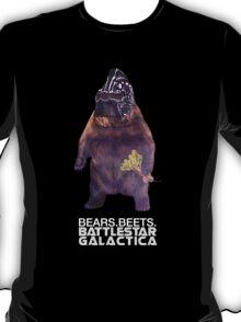 Bears Beets Battlestar Galactica T-Shirt