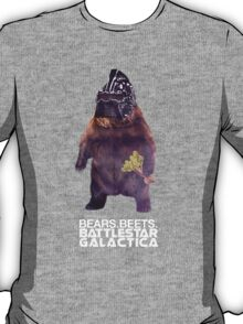 Bears Beets Battlestar Galactica T-Shirt