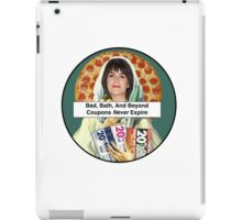 Bed, Bath, and Beyond Coupons Never Expire iPad Case/Skin