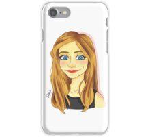 Smiling Blue Eyed Girl  iPhone Case/Skin