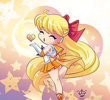 Chibi Super Sailor Venus by MakoFufu