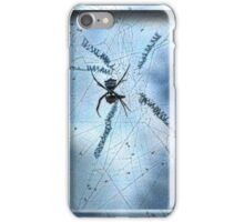 The Itsy Bitsy Hero in Blue iPhone Case/Skin
