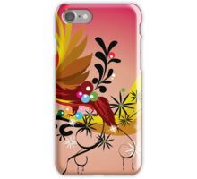 Vector Bird Illustration iPhone Case/Skin