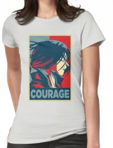 Courage! Trunks Womens Fitted T-Shirt