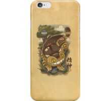 Traditional Nekobasu  iPhone Case/Skin