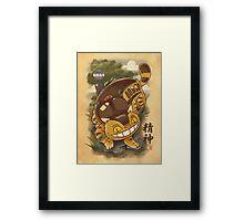 Traditional Nekobasu  Framed Print