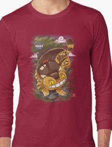 Traditional Nekobasu  Long Sleeve T-Shirt